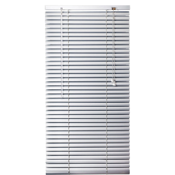 Urban Decor Ávila Venetian  25mm Aluminium Blinds - Silver - 600 x 1000 mm