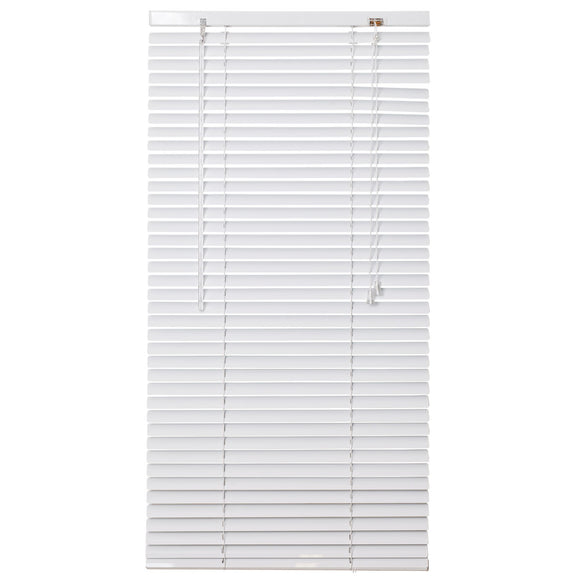 Urban Decor Ávila Venetian  25mm Aluminium Blinds - White - 600 x 1000 mm