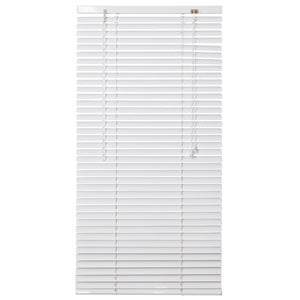 Urban Decor Ávila Venetian  25mm Aluminium Blinds - White - 1200 x 2200 mm