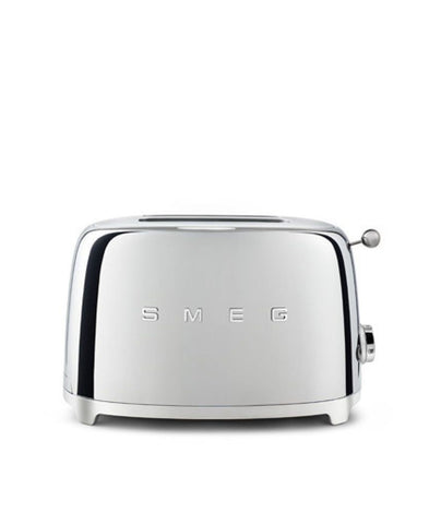 Smeg 2 Slice Toaster - Chrome