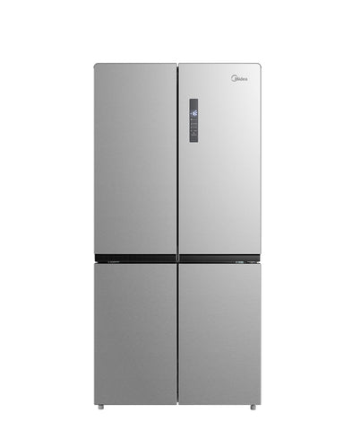 MIDEA SIDE BY SIDE REFRIGERATOR STAINLESS STEEL - HQ-840WEN