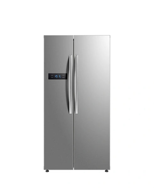 MIDEA 527L SIDE BY SIDE FRIDGE SILVER HC-689WEN(ESN)-S