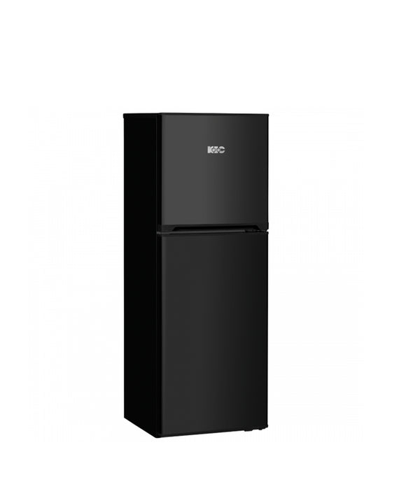 KIC 170L Top Freezer Fridge Black 518/1 (On Promo)