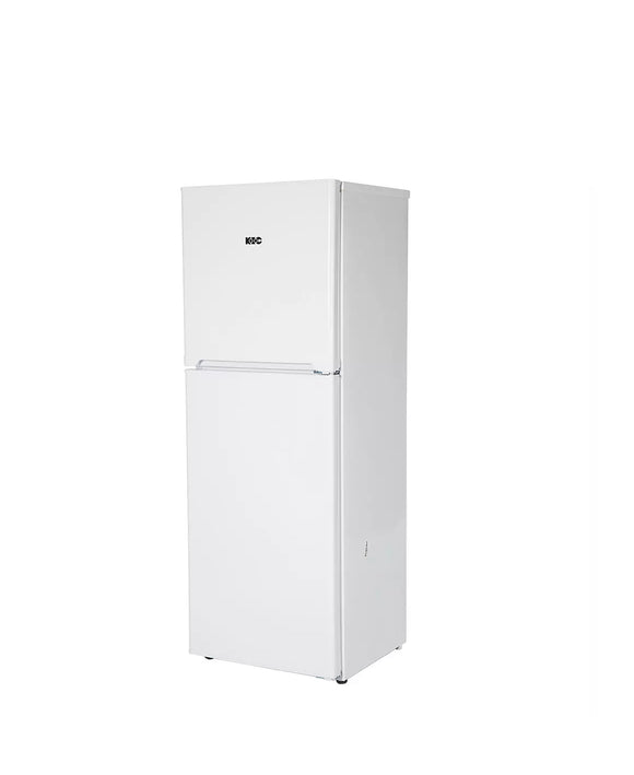 KIC 170L Top Freezer Fridge White 518/1 (On Promo)