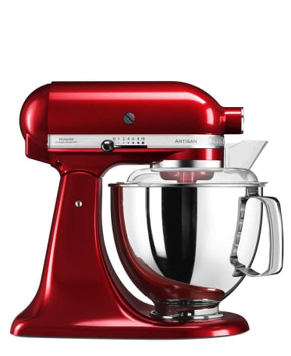 Kitchenaid 4.8L Stand Mixer + Free S/S Bowl - Candy Apple