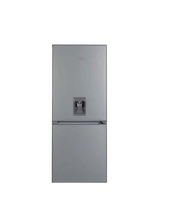 KIC 638/9 Metallic Water Dispenser Combi Fridge