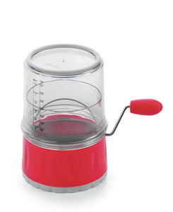 Progressive Measuring Flour Sifter - Red