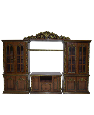 8003 Wall Unit Brown