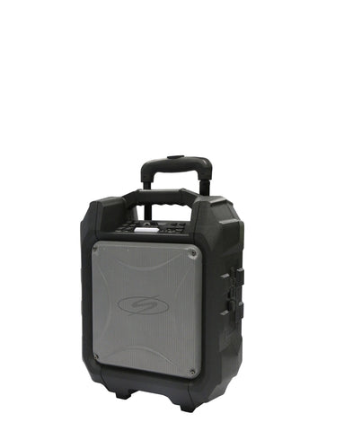 S Digital Bass Cruizer Trolley Speaker - Black