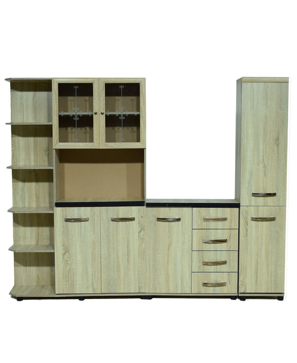 Barcelona Kitchen Scheme Imp Oak (On Promo)