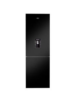 Defy 348L Eco Combi Fridge Black Glass DAC652