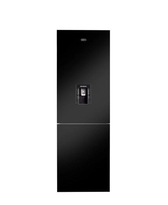 Defy 348L Eco Combi Fridge Black Glass DAC652 (On Promo)