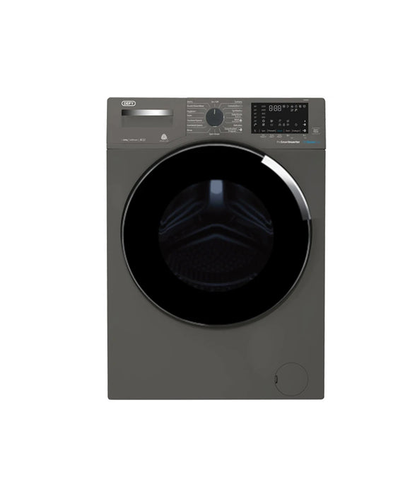 Defy 10KG Steamcure Front Loader Washing Machine Grey DAW387