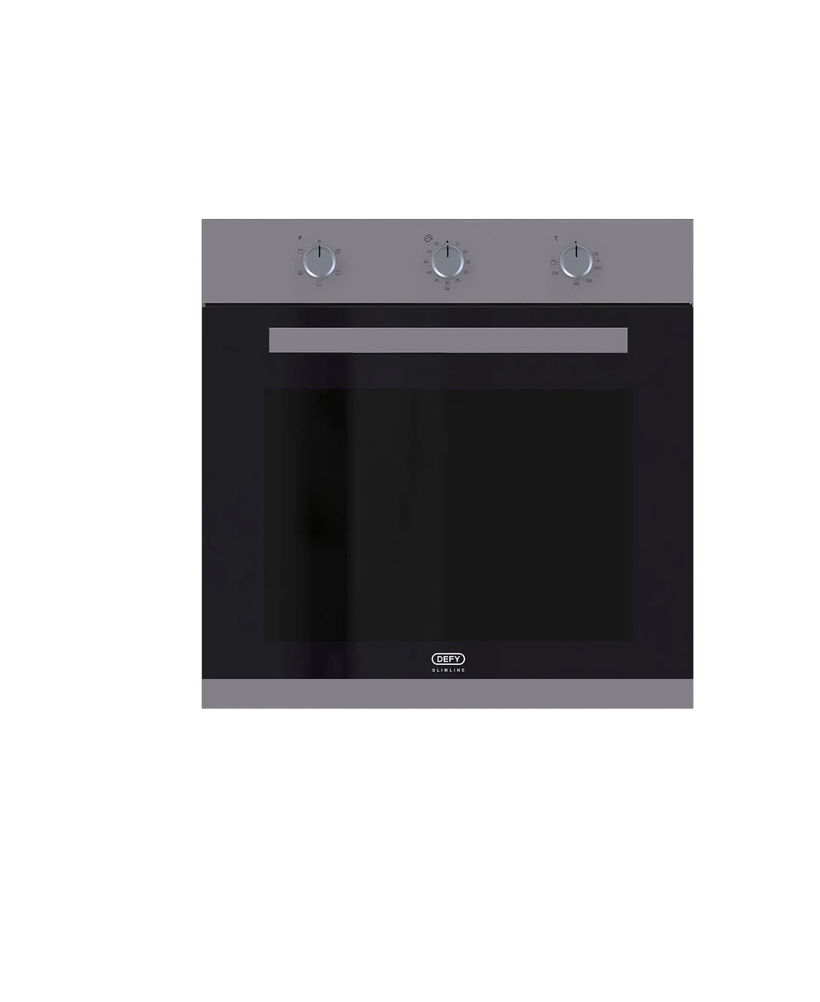 Defy Gemini Gourmet Multifunction Double Oven Black DBO486