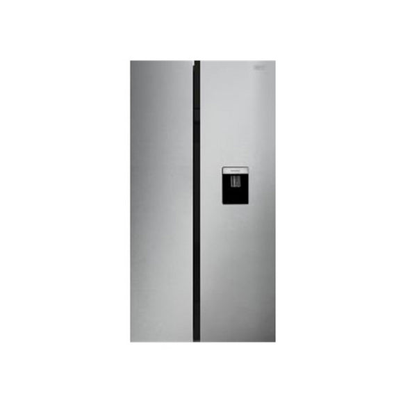 DEFY 555LT SIDE BY SIDE FRIDGE WATER DISPENSER, METALLIC -DFF447 (On Promo)