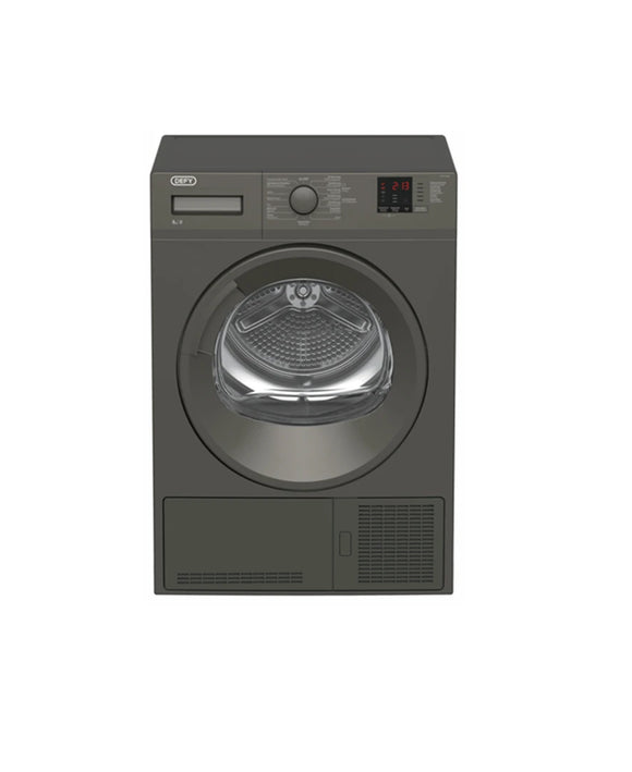 DEFY 8KG MANHATTAN GREY CONDENSER DRYER DTD320