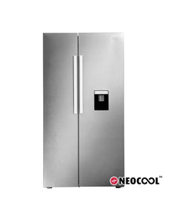 Defy 555L Side By Side Fridge Metallic DFF437 (On Promo)