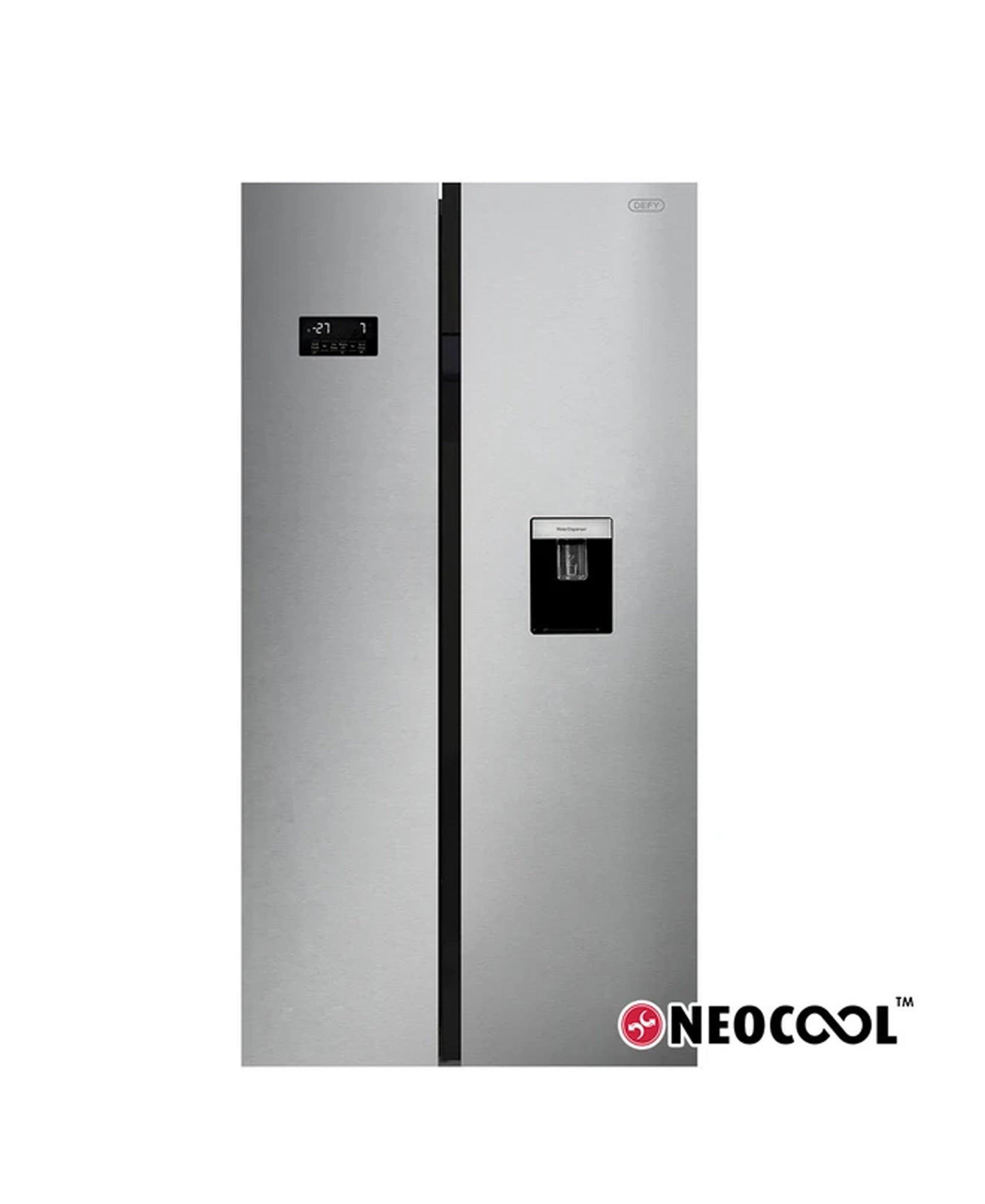Defy 614L Eco Side By Side Fridge Freezer DFF453
