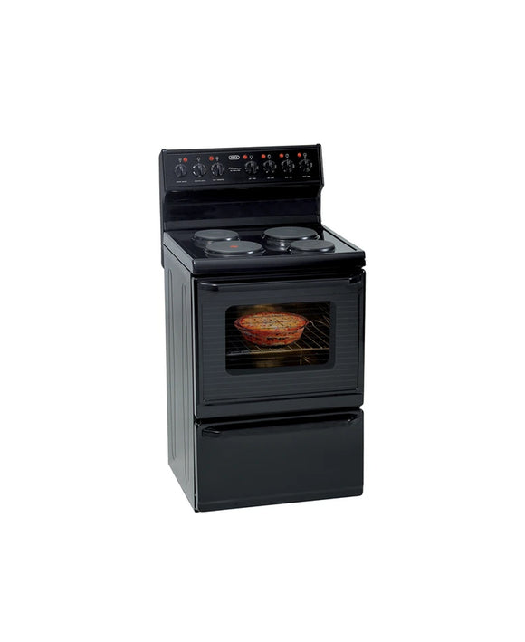 Defy 4 Plate Kitchenaire Stove Black DSS494 (On Promo)