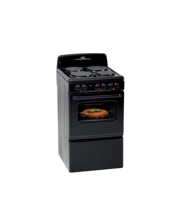Defy 4 Plate Stove Compact Black DSS514 (On Promo)