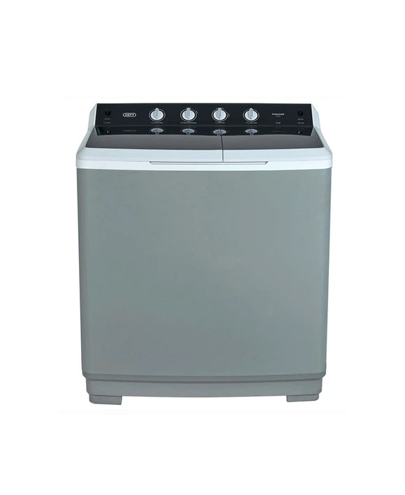 Defy 15KG Twin Tub Washing Machine Metallic DTT151 (On Promo)