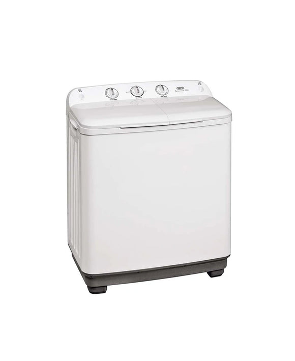Defy 8KG Twin Tub Washing Machine White  DTT166 (On Promo)