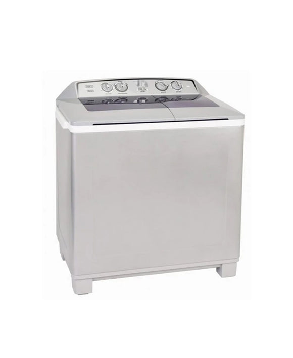 Defy 10KG Twin Tub Washing Machine Metallic DTT172