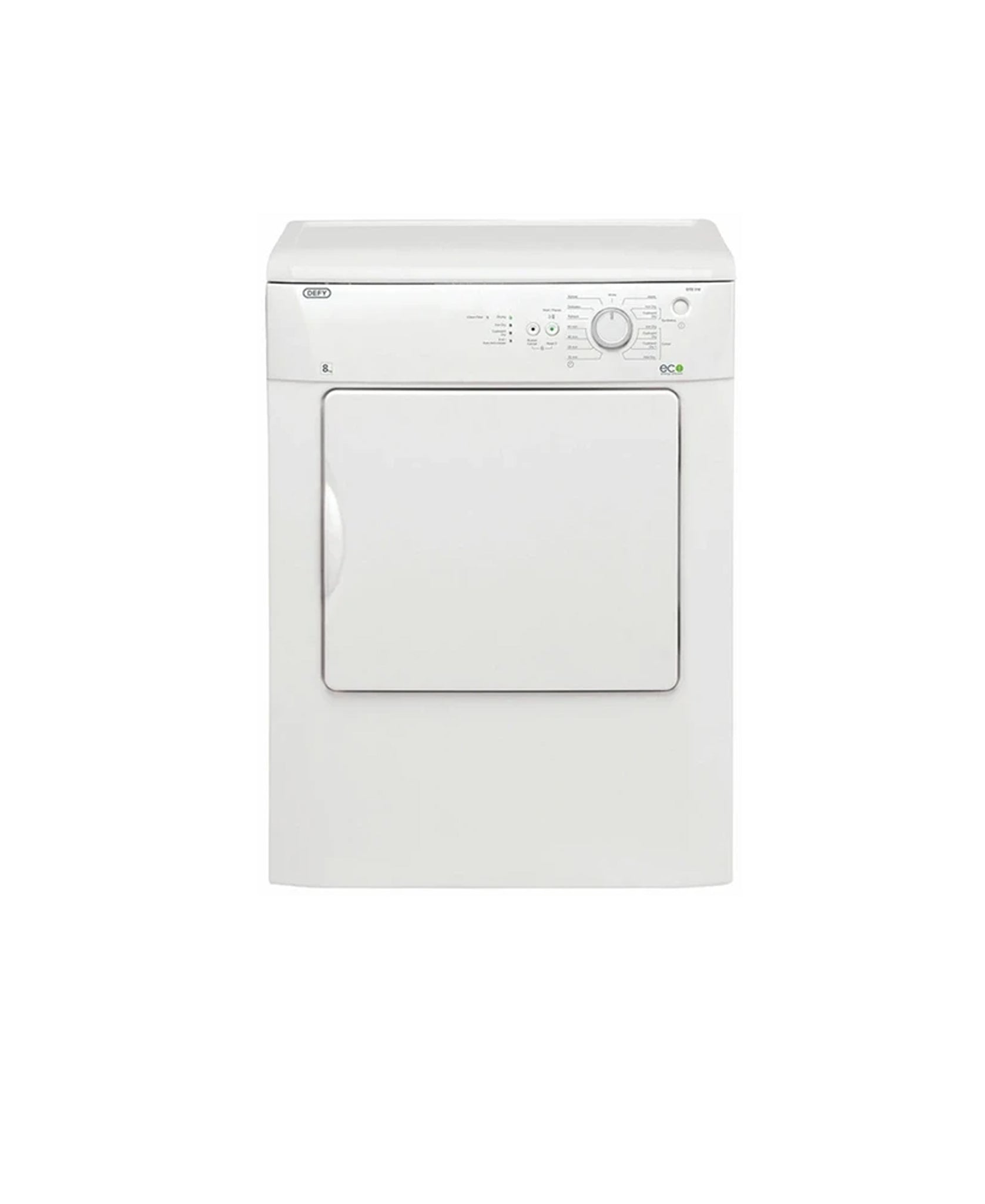 Defy 8KG Air Vented Dryer White  DTD310