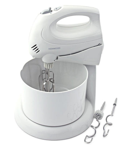 Kenwood Handmixer With Stand and Bowl - White