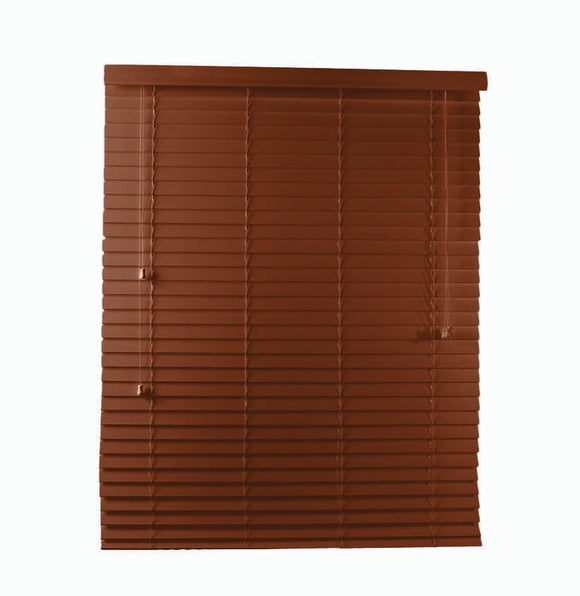 PVC Blinds 600x1000 - Mahogany