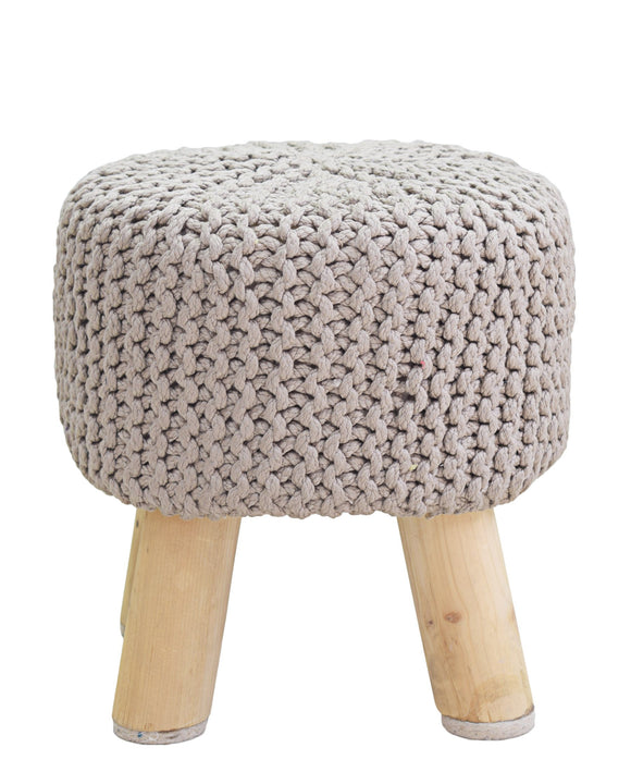 Urban Decor Neo Stool Handmade 340mm - Light Brown