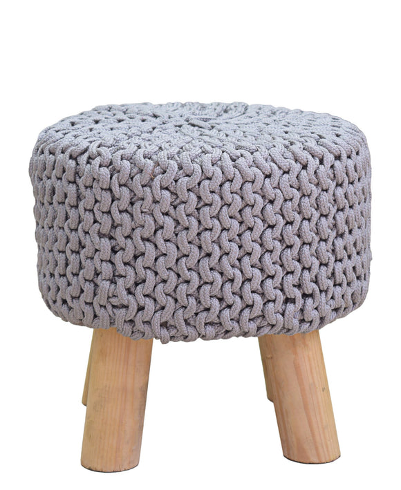 Urban Decor Neo Stool Handmade 340mm - Light Grey