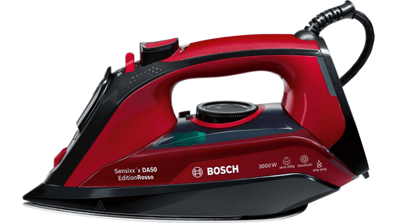 Bosch TDA503011P Steam Iron Sensixx'x DA50 EditionRosso 3000W