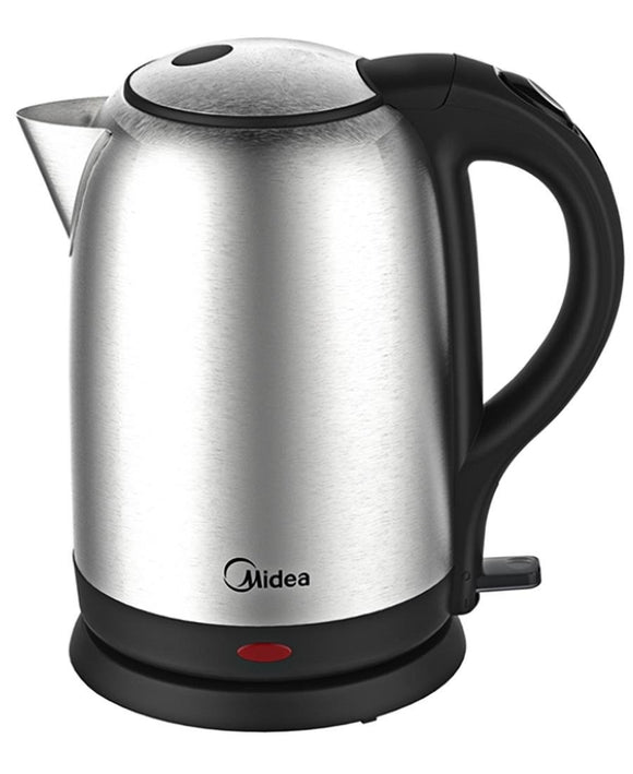 Midea 1.7L Stainless Steel Kettle - Silver