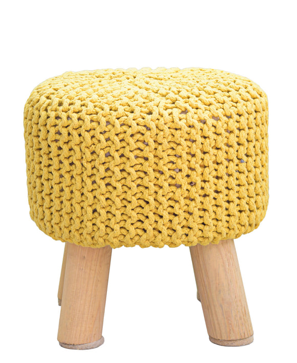 Urban Decor Neo Stool Handmade 340mm - Mustard