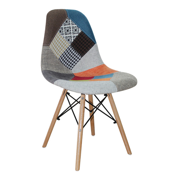 Urban Decor Atlanta Shell Chair Multi Colour