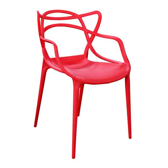 Urban Decor Seattle Squiggle Chair Red