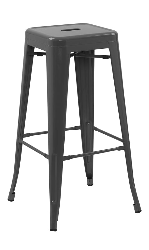 Urban Decor  Chicago Bar Stool Grey
