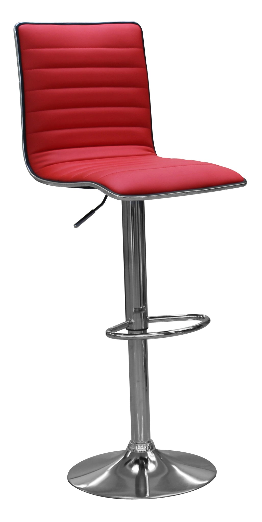 Urban Decor  San Diego Bar Stool Chrome Frame