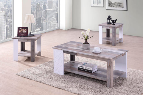 Urban Decor  Milan 3 Piece  Coffee Table with Side Tables