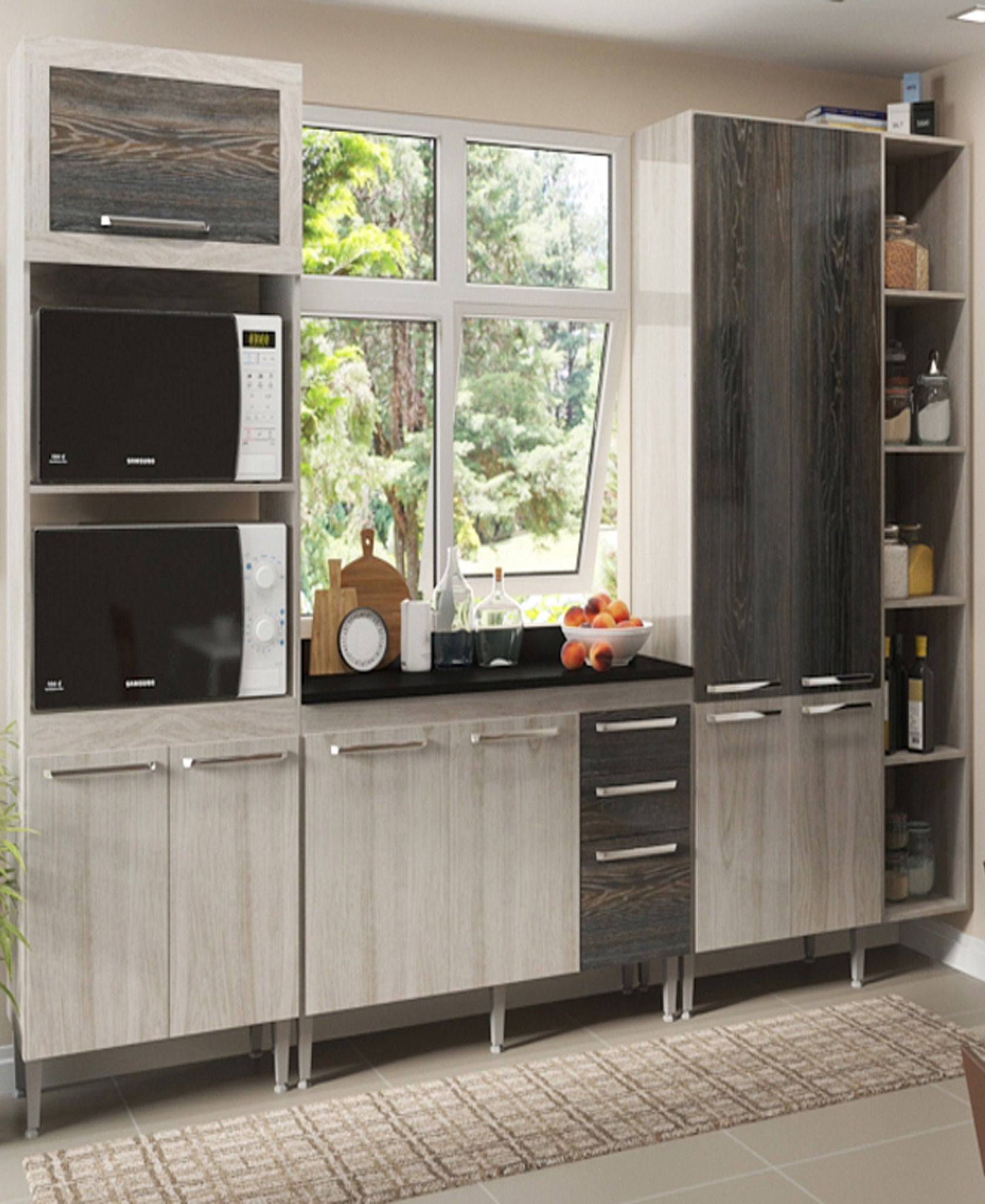 MWBR820 Kitchen Scheme