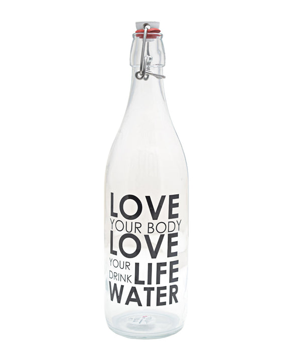Pasabahce Water Bottle 1,25L x 3 - Clear