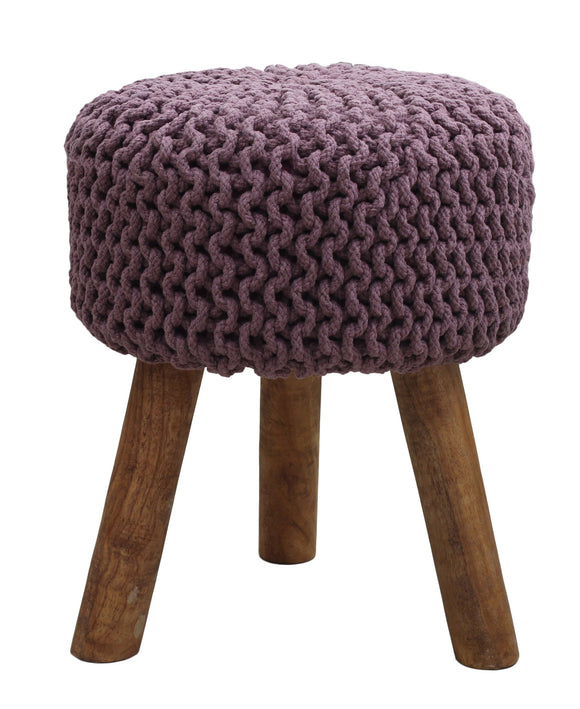 Urban Decor Neo Stool Handmade 470mm - Purple