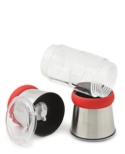 Russell Hobbs Salt & Pepper Shaker - Clear