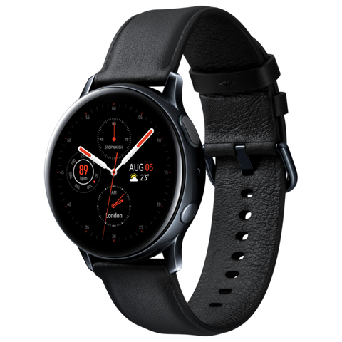 SAMSUNG GALAXY WATCH ACTIVE 2 BT 40 SS - BLACK - SM-R830NSKAXFA