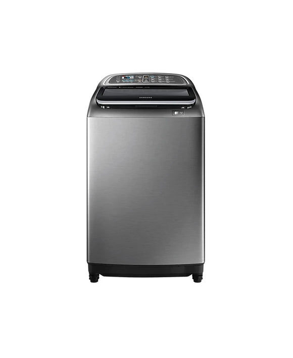 Samsung 18KG WA18J6750SP Top Loader Silver