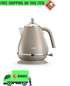 DeLonghi Icona Elements Kettle - Beige  (On Sale)