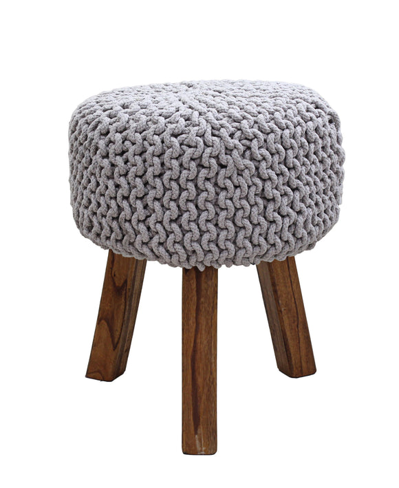 Urban Decor Neo Stool Handmade  470mm - Grey