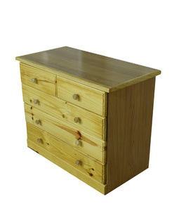 Titan 3+2 Pine Chest Of Drawer