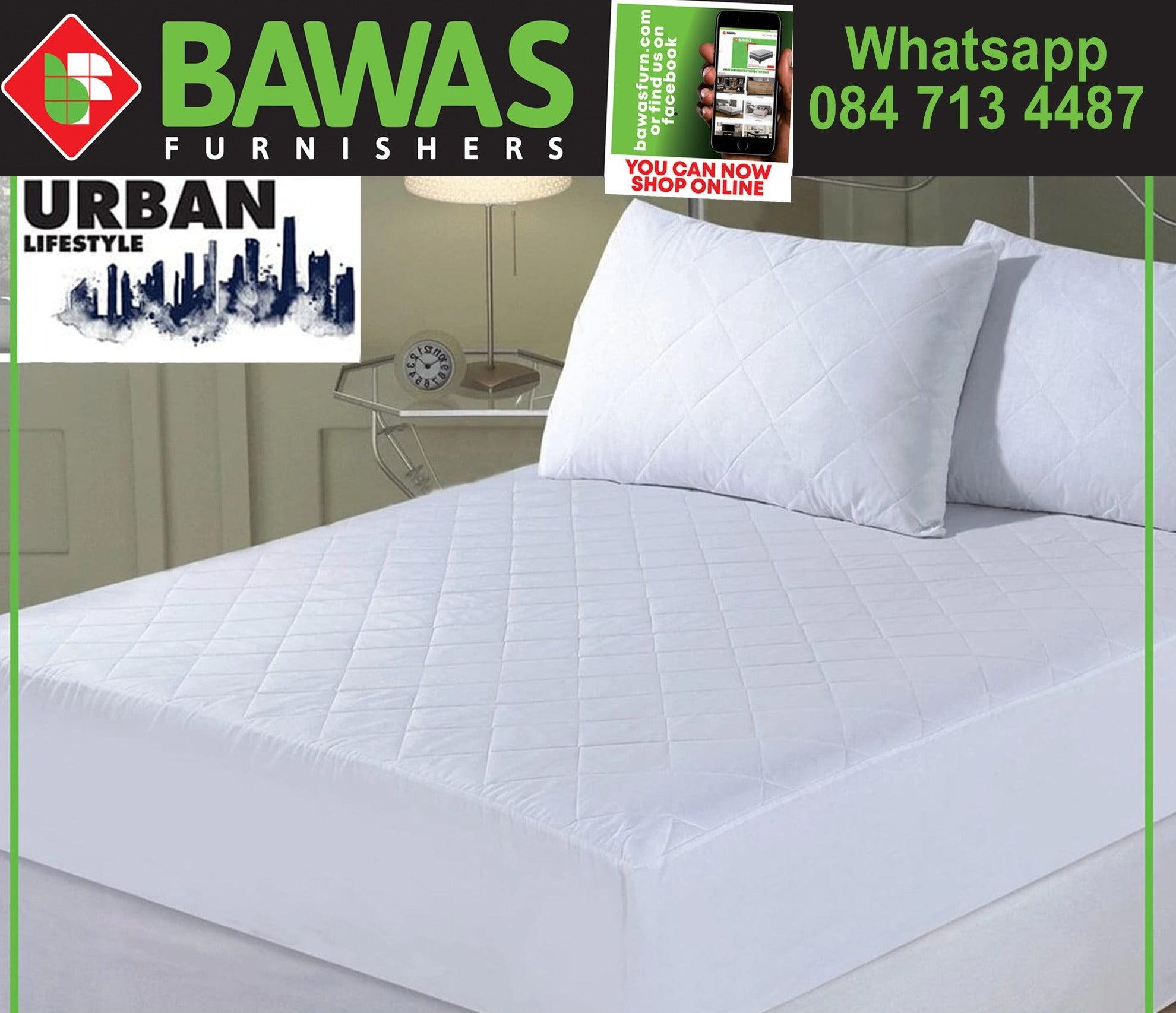 Urban Lifestyle Waterproof Mattress Protectors Queen